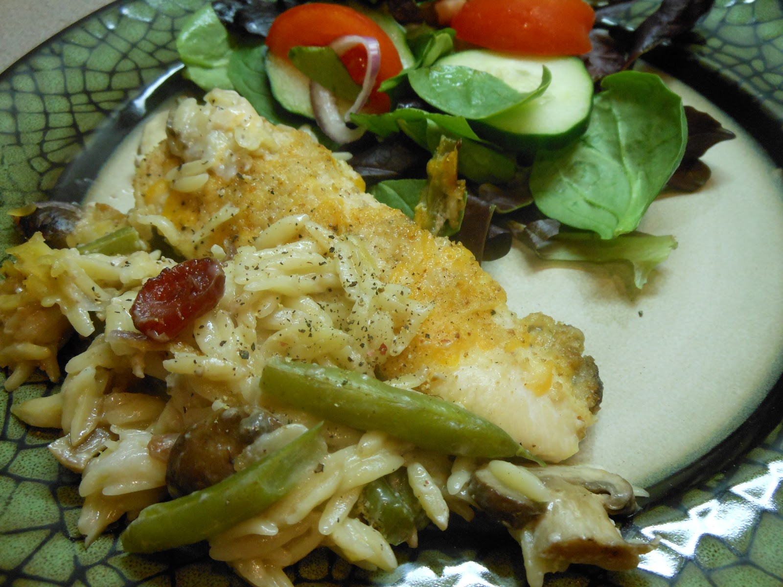 ... New Look for Nutrition: Chicken, Mushroom, and Green Bean Casserole