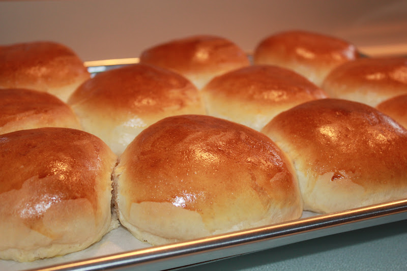 Sisters Luv 2 Cook: Light Brioche Hamburger Buns