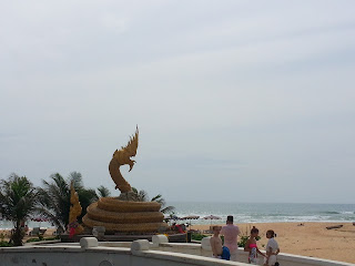 Karon Beach - the Sea Dragan
