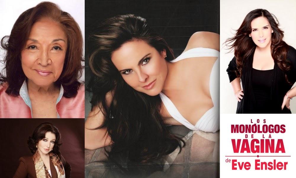 Miriam Colon, Kate del Castillo, Angelica Maria y Angelica Vale seran las estrellas de Monólogos de la Vagina Off-Broadway