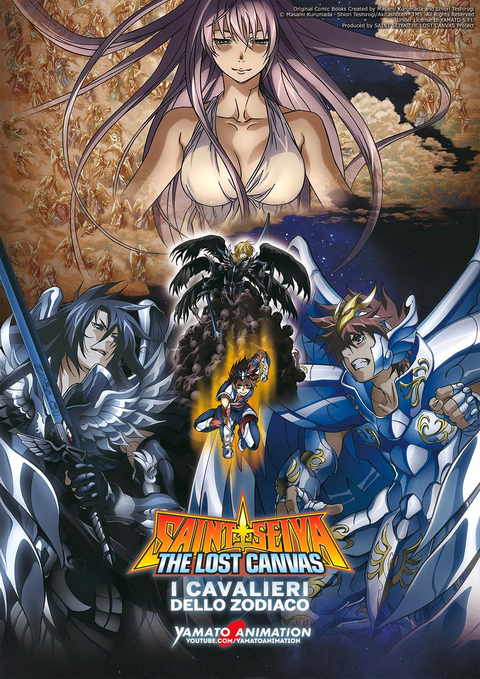 I CAVALIERI DELLO ZODIACO - SAINT SEIYA, STREAMING GRATUITO DI LOST CANVAS