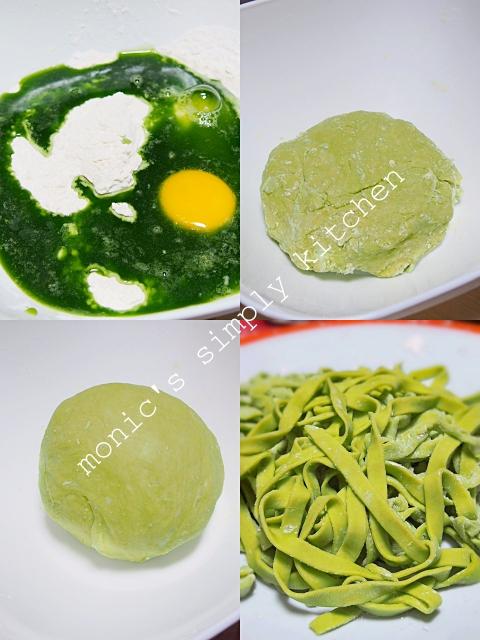 cara buat mie hijau sawi homemade
