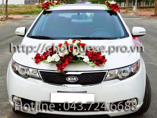 Cho thuê xe cưới Kia Forte