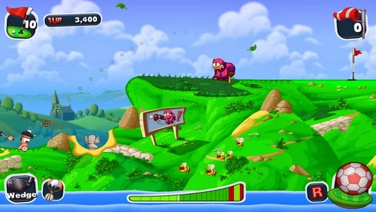 Gameplay Worms Crazy Golf