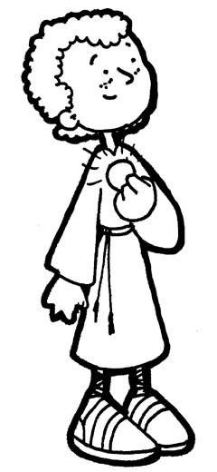 Dibujos para catequesis: SAN TARCISIO