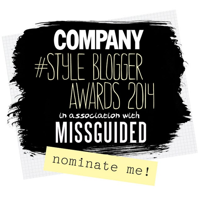 Vote for me under 'Best Fashion Blog'...