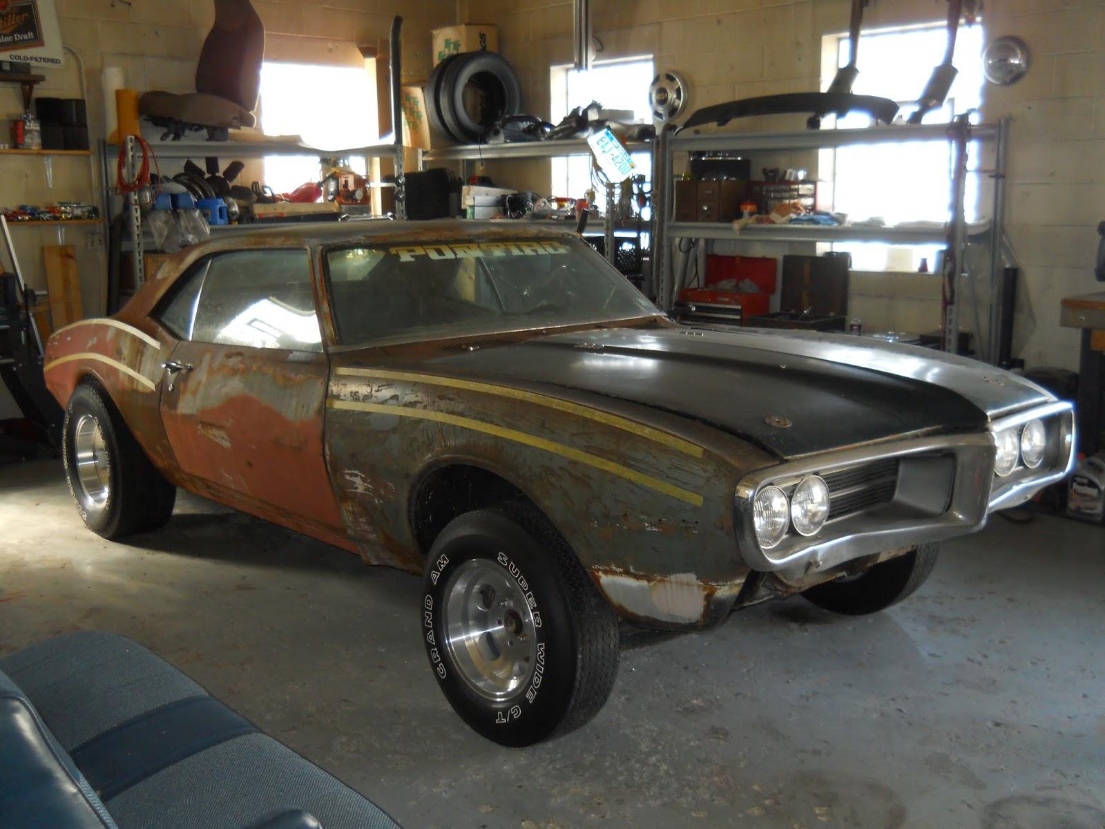 Motor City Muscle 1968 Firebird Update September 6 2013