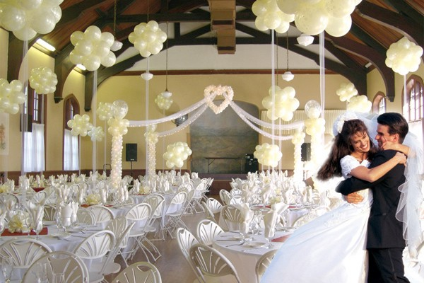 Example wedding decoration balloon wedding decorations for Ballon wedding decoration