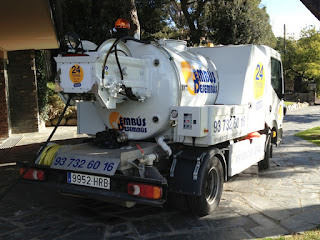 Limpieza profesional de desagües