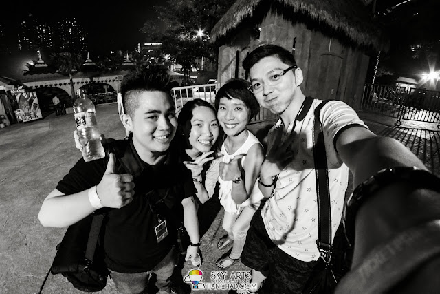 Together with Gary, MeiQuan and Clover after the concert OneRepublic Native Live in Malaysia 2013