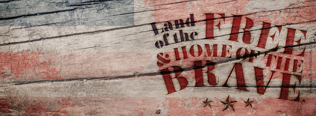 LostBumblebee ©2015 MDBN : land of the FREE and Home of the Brave 4th of July : FACEBOOK COVER IMAGE Donate to download : PERSONAL USE ONLY!