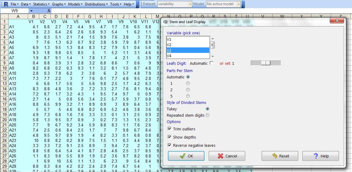 Stem And Leaf Plot Excel Zrom