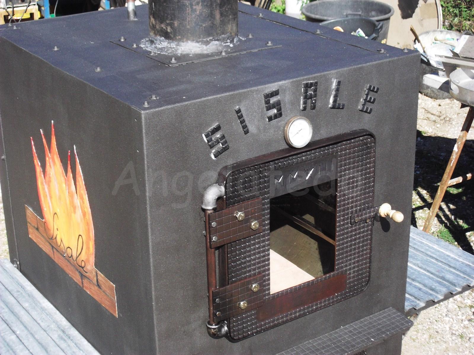 Construcci n de horno de le a horno sisale angelatedo - Como fabricar horno de lena ...