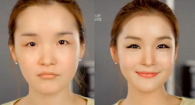 makeup before and after korean - photo #5