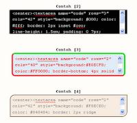 text area unik