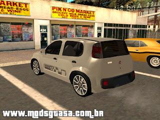 Novo Fiat Uno Sporting 2011 para grand theft auto