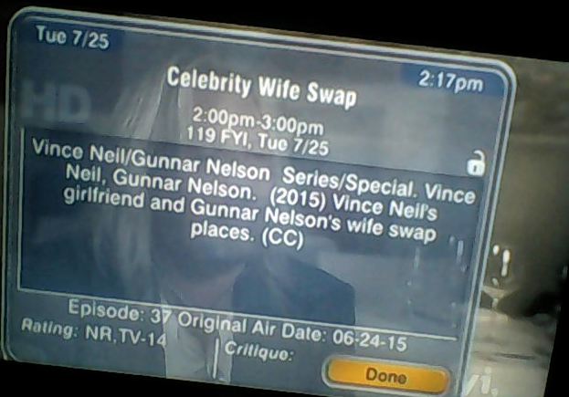 the mindless freaks gunnar nelson on wife swap with vince. Black Bedroom Furniture Sets. Home Design Ideas