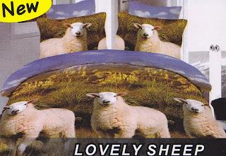 Sprei Fata Lovely Sheep