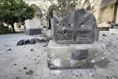 Syria: Al Qaeda FSA Terrorists Destroy Ancient Statues in a Museum in Syria fsa+museum1