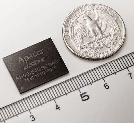 Apacer mini SSD - μSDC-M Plus