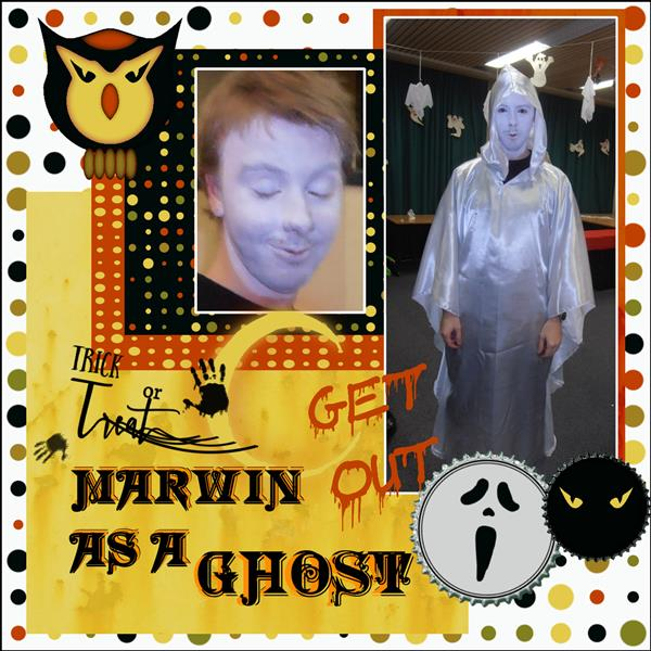 page 1 Oct. 15 - Marwin as a ghost