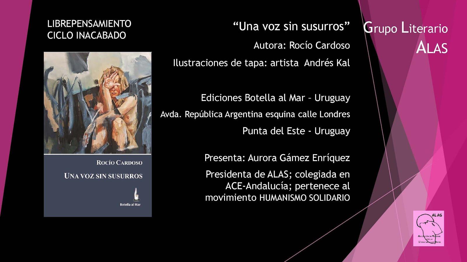 VI Edición Ciclo Librepensamientos. Grupo literario ALAS.