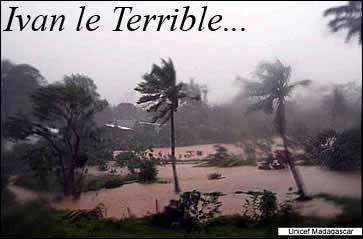 Cyclone Yvan Sainte-Marie Madagascar
