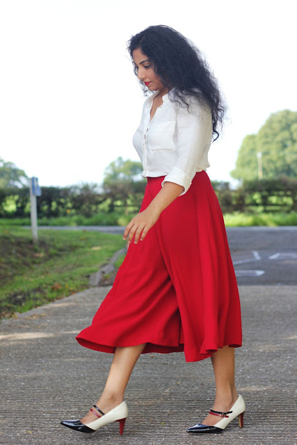 DIY Long Culottes