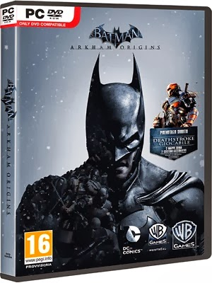 Batman Arkham Origins PC    Português BR + Torrent