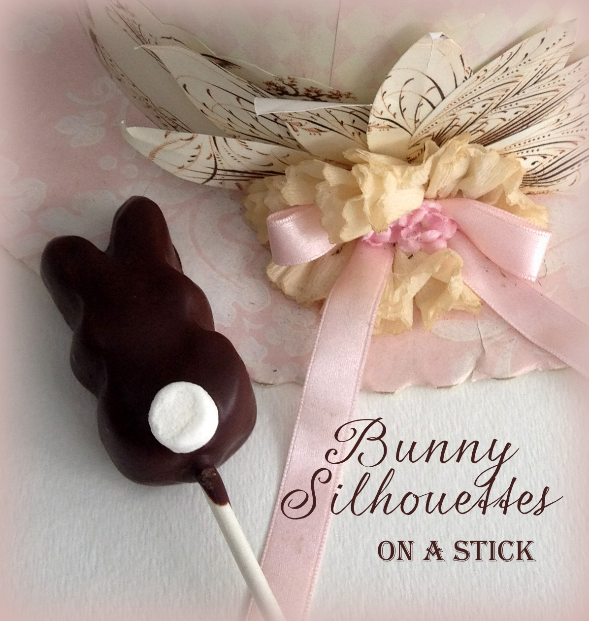 Marshmallow Cottontails On A Stick  Sweet, Simple & Fun Easter Recipe