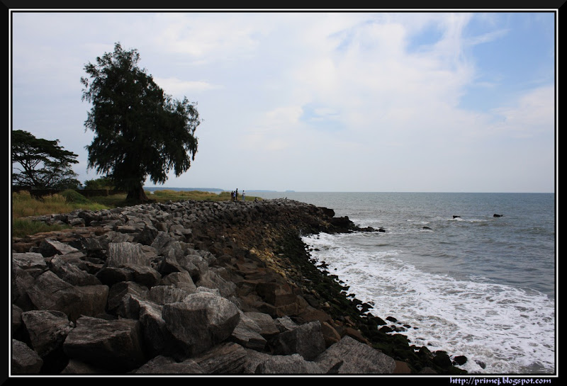 Shoreline, St. Angelo Fort