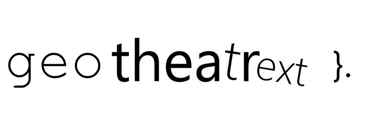 Geo Theatrext
