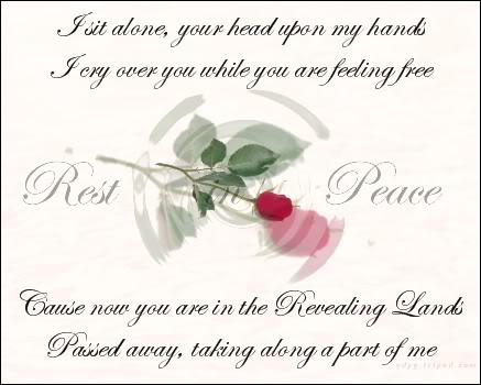 Rest In Peace Rest In Peace Poems For A Friend