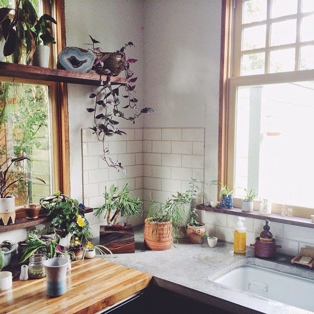 Moon To Moon Creating A Beautiful Bohemian Kitchen On A