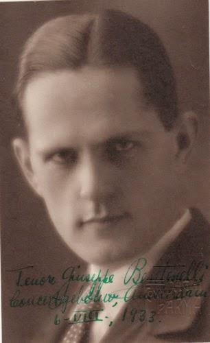 AMERICAN TENOR JOSEPH BENTON (GIUSEPPE BENTONELLI) CD