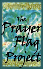 The Prayer Flag Project: hand stitched prayer flags