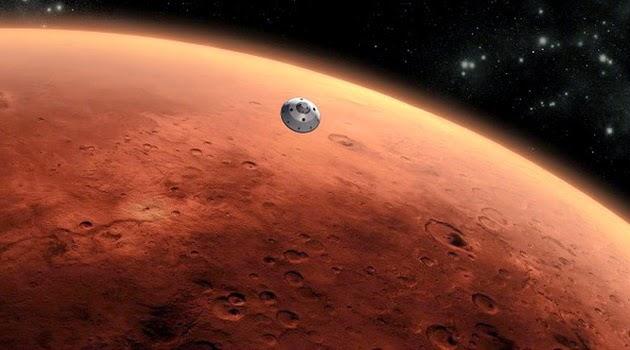 Kapsul Waktu Akan Diterbangkan ke Planet Merah