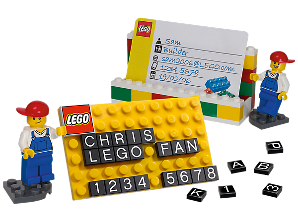 Lego Business Card Holder Might Be The Most Fun Thing In Your Office