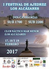 I FESTIVAL DE AJEDREZ LOS ALCÁZARES  SUB 2200 Y SUB 1700