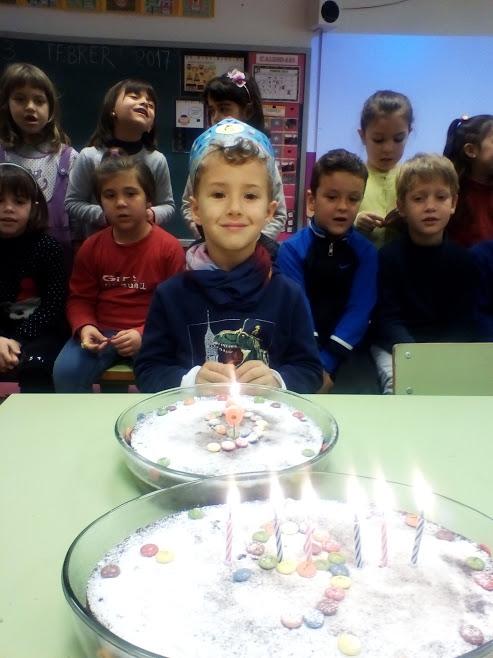 En Pol ja té 6 anys!!