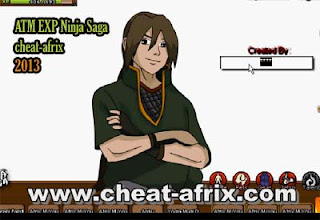 Cheat ATM Exp Ninja Saga 2013 Working