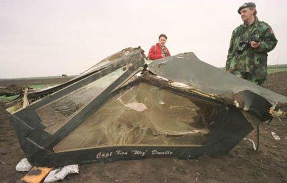 Bangkai F-117 Nighthawk