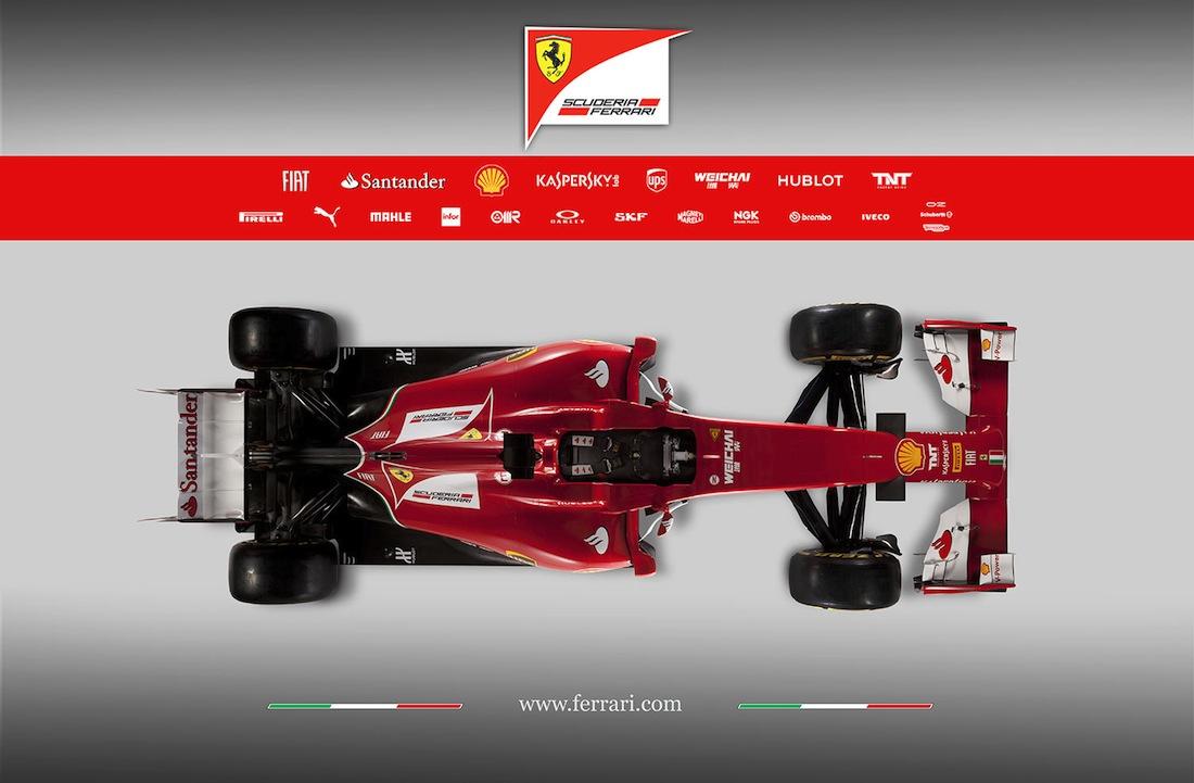 フェラーリF14-T