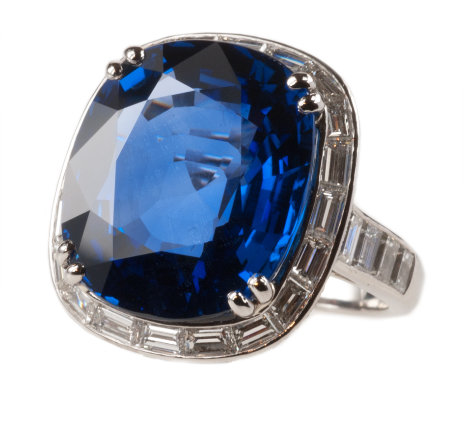 carats sapphire pin diamond bulgari important burmese ring and