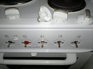 Spisen är av modell Electrolux EKE 5100