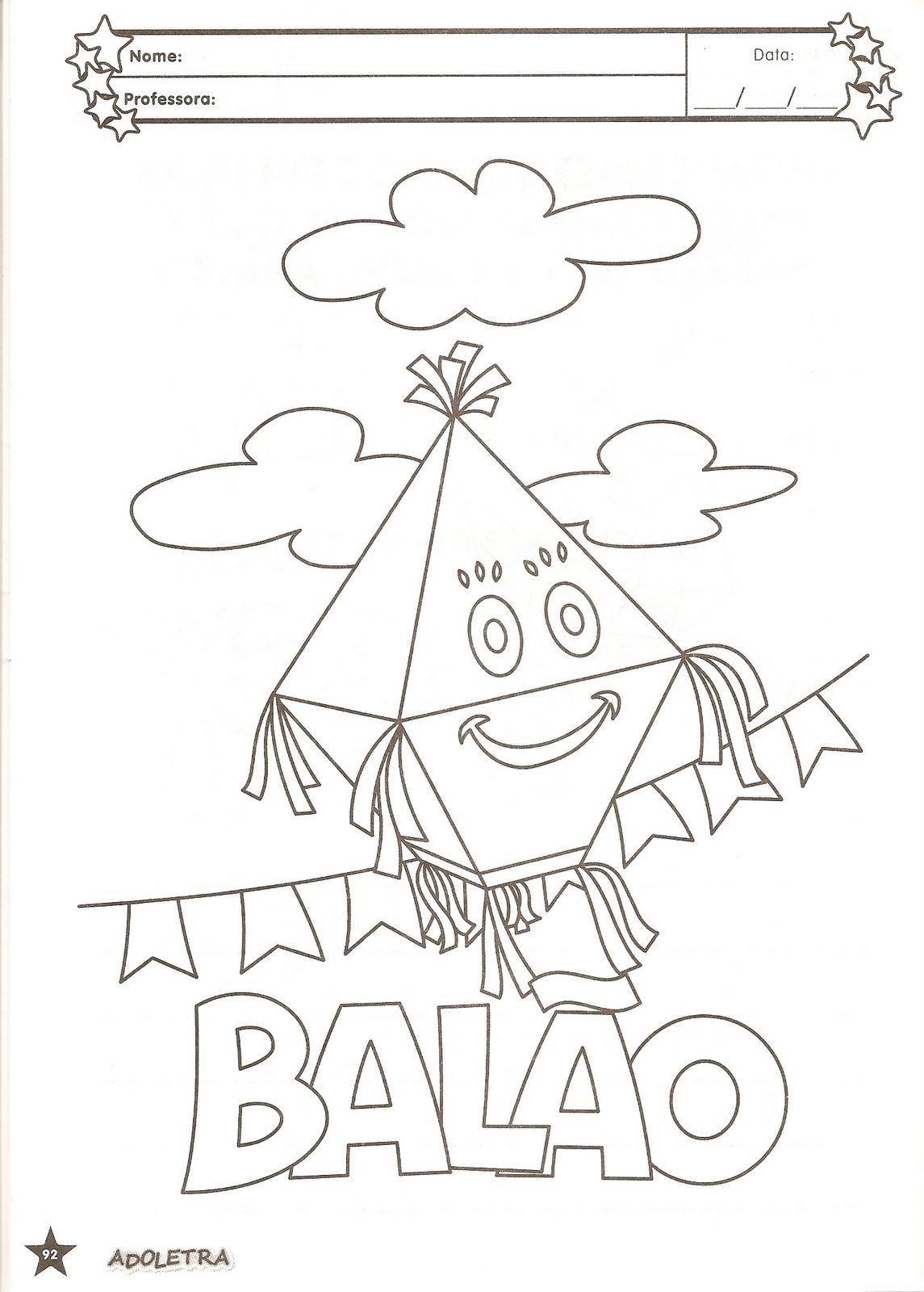 Muito Atividades para colorir infantil: Atividades com o tema Festas  PJ01