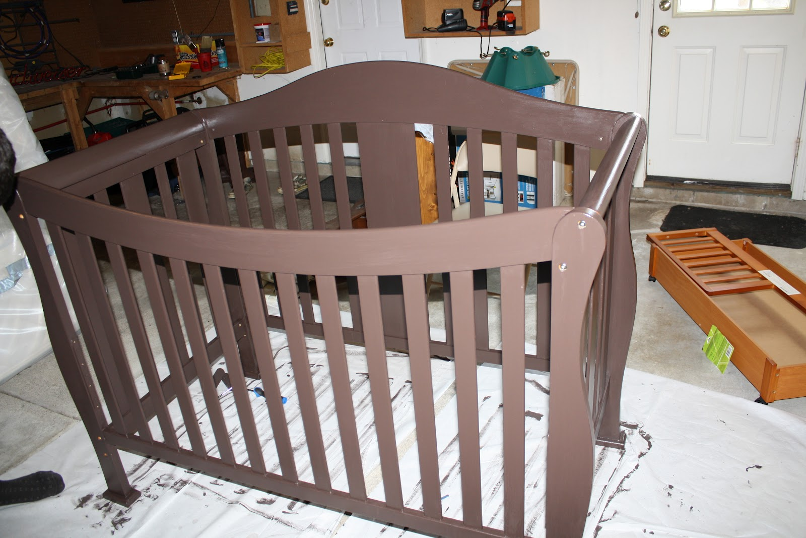 Tutorial: How To Paint And Seal A Crib.