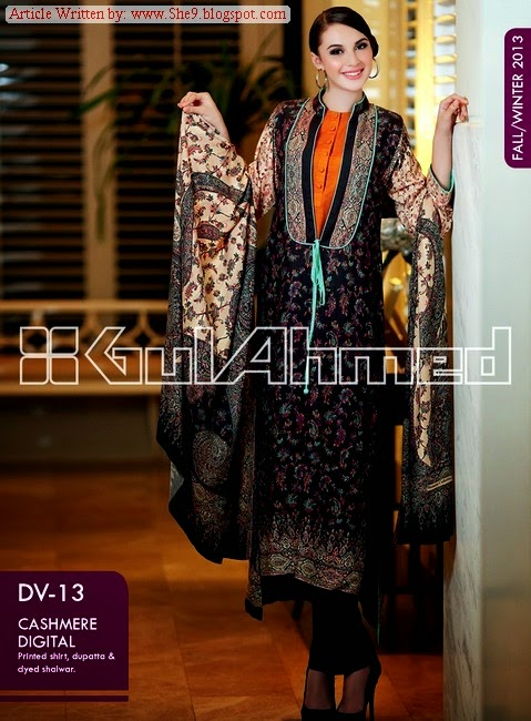 GUL AHMED Fall / Winter Dress Collection