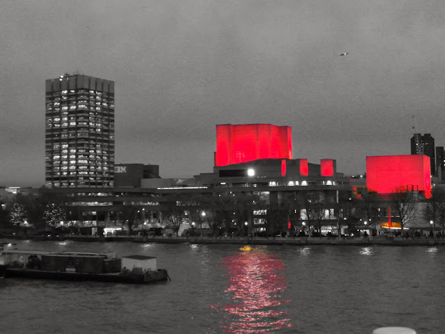 The National Theatre on the South Bank River Thames