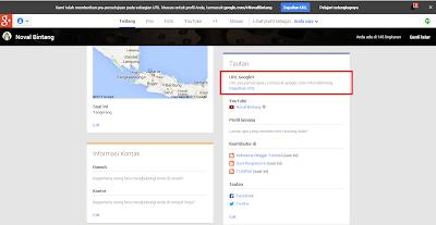 Mengganti URL Khusus Google Plus